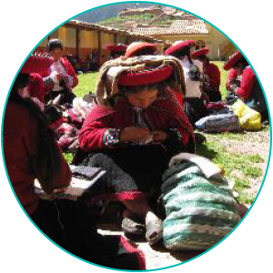 Chinchero Women Knitting