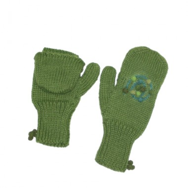 Mossy Maze Texting Mittens
