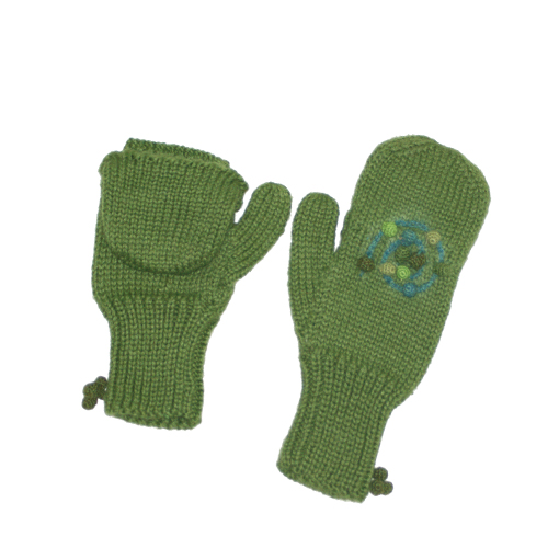 Knitting Pattern For Texting Mittens : Mossy Maze Texting Mittens - TwittenTwitten