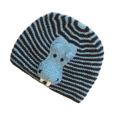 Hippo Face Hat