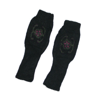 Midnight Pisco Fingerless Gloves