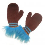 Furry Enchanted Hedgehog Mittens