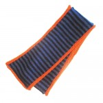 Jeans Blue Striped Scarf For Kids
