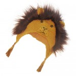 King Lion Hat With Fur