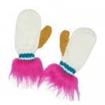 Magic Pink Unicorn Mittens